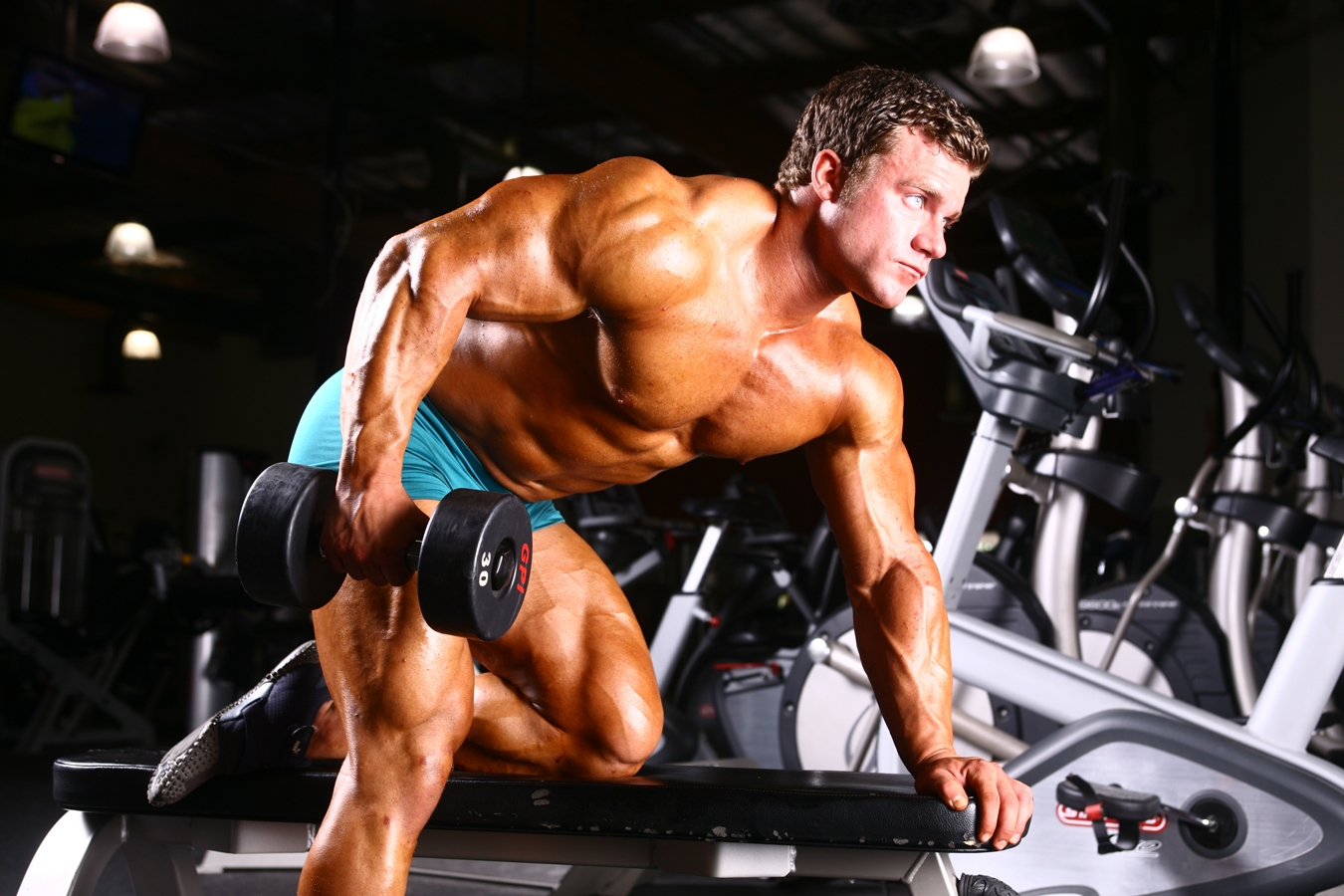 Biomechanical Perfection: Tricep Kickback